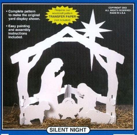wood nativity yard cutout pattern craft ideas pinterest