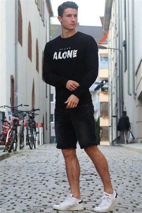 coolest  black casual outfit ideas  men mens