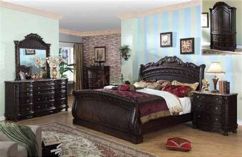 traditional sleigh bedroom furniture set 108 xiorex