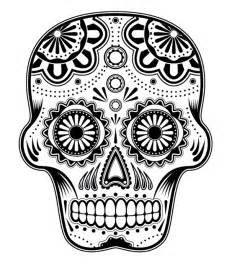 sugar skull coloring free printable sugar skull coloring pages