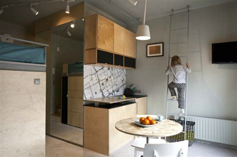 small studio apartment kitchens small square kitchen 20 inspiring ideas for minimal home living hongkiat