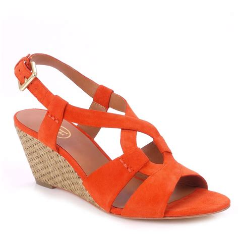 orange sandals for buy womens ash wedges womens ash wedge
