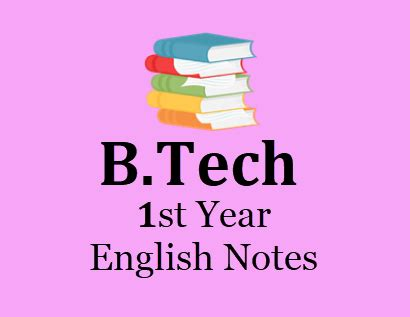 engineering english  st year notes  books notes lecture notes study materials