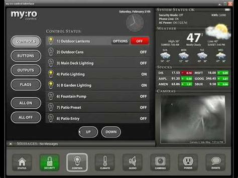 myro llc home automation ui client sneak peak