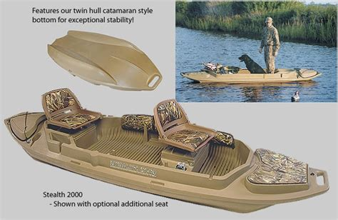 beavertail sneak boat reviews stealth 2000 duck boat go boating