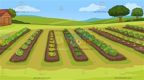 vegetable garden clipart a vegetable garden background clipart vector