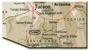 tubac arizona map tubac presidio state historic park az desertusa