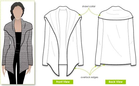 pattern review style arc style arc laura knit cardi pattern for the sweater diy
