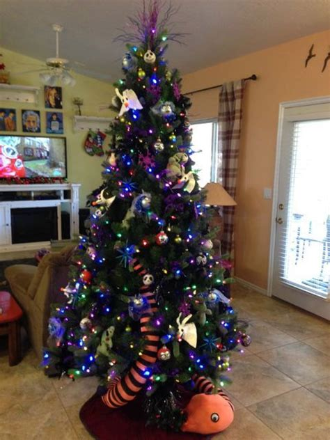 17 best ideas about nightmare before christmas tree on