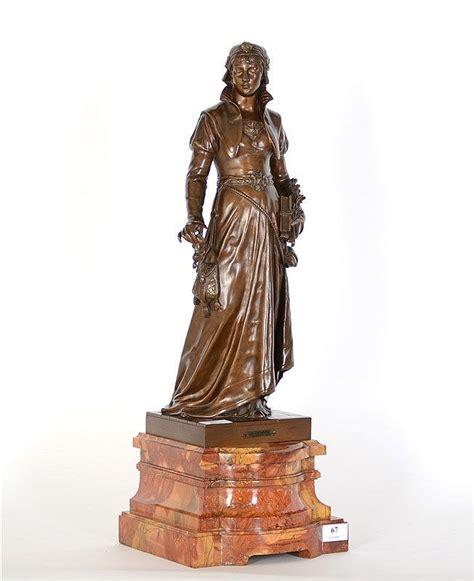 Bronze L by Gr 233 Goire L Sculpture En Bronze 224 Patine Brune La Chari