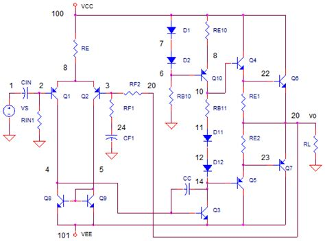 transistor lifier pspice transistor bc547 pspice 28 images 10 watt slone lifier youspice op determining litude of a