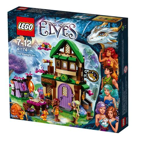 Mainan Lego Lego Elves 41174 lego 41174 lego elves csillagf 233 ny fogad 243