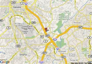 marietta map map of econo lodge marietta marietta