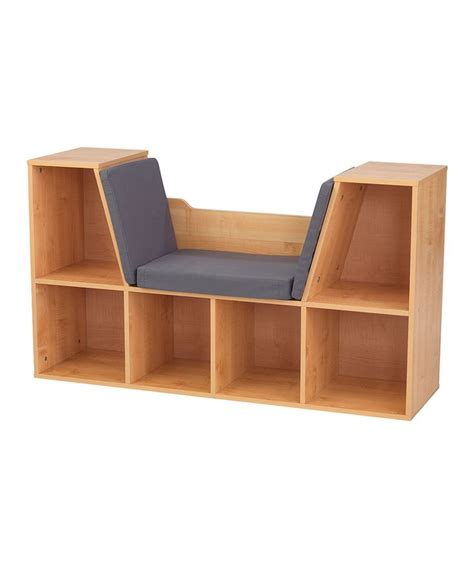 kidkraft bookcase with reading nook another great find on zulily kidkraft natural bookcase