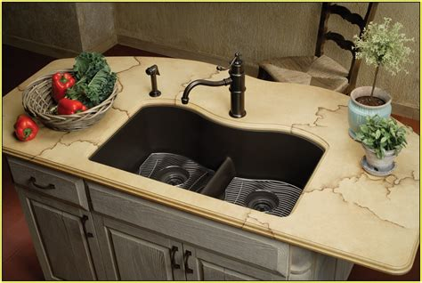 Overstock Kitchen Faucets composite granite sinks lowes home design ideas