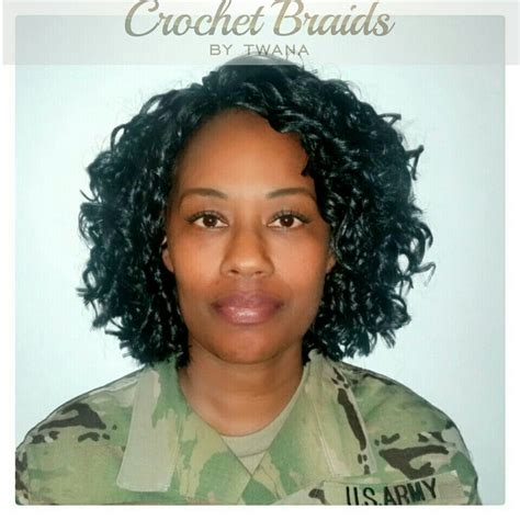 army cornrow styles crochet braids are perfect for women in uniform you can