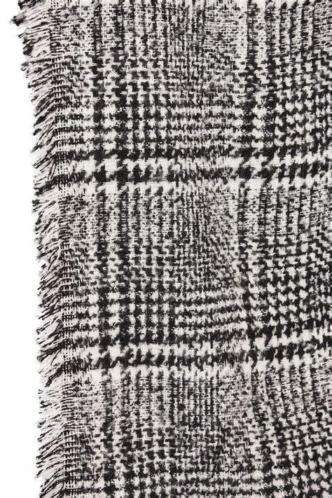decke umhang damen gestrickt umhang winter tartan karomuster decke