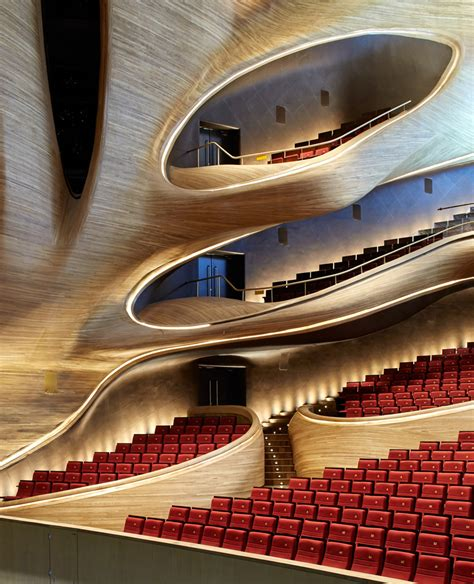 harbin opera house mad architects fluid formed harbin opera house opens in china
