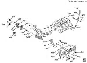 engine asm 3 8l v6 part 4 pan and related parts