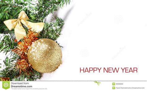 how to make new year tree on new year tree royalty free stock images