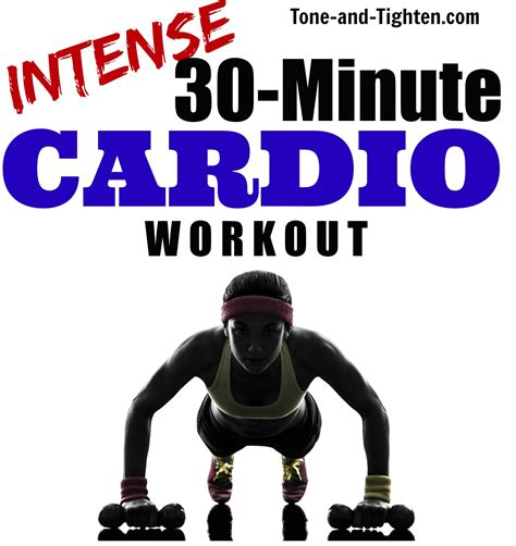 at home 30 minute total cardio workout tone