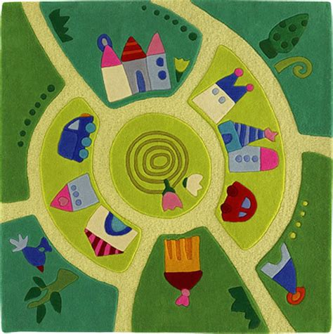 Haba Play World Area Rug Kids Rugs Other Metro By Play Area Rugs