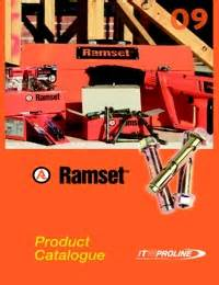 Chemical Ramset industrial and bearing supplies ramset