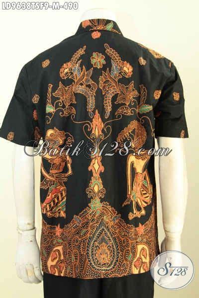 Baju Hitam Cocok Dengan baju batik pria warna hitam dengan motif elegan klasik hem batik premium proses tulis soga