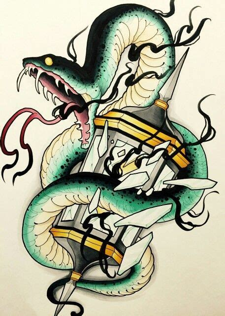 tattoo flash of snakes 284 best images about snake on pinterest