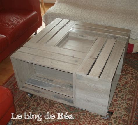 Pas à pas : table basse bar   Le blog de Béa