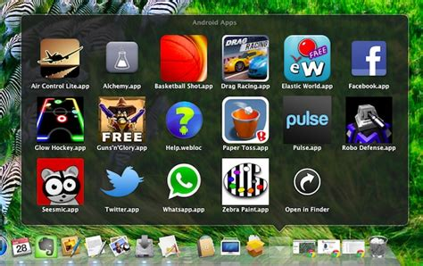 free apps android run android apps in mac os x with bluestacks