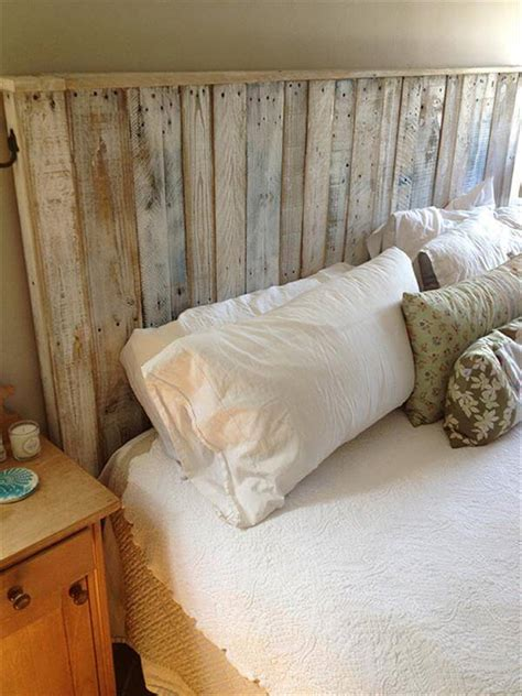 how to build a headboard build a simple pallet headboard 99 pallets
