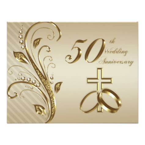 50th Wedding Invitation Cards by 50th Wedding Anniversary Gifts