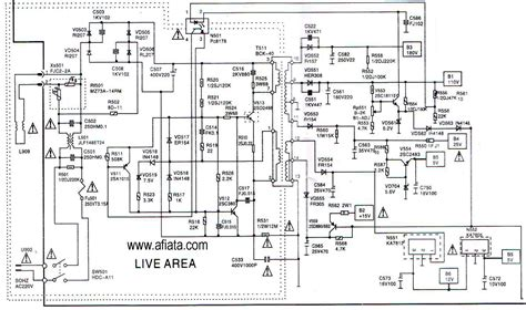 electronic diagrams and schematics electronic circuit diagram tv power supply ac matic using