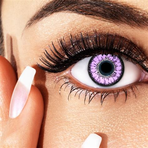 Eyeshadow Zetten violet elegance farbige kontaktlinsen mit st 228 rke