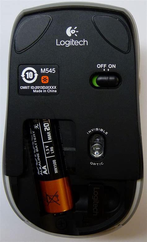 Mouse Wireless Logitech M545 wireless mouse m545 logitech support