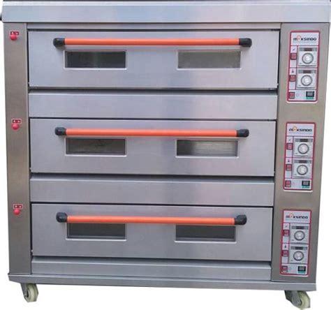 Oven Listrik 3 Rak mesin oven roti gas 3 rak 9 loyang go39 toko mesin