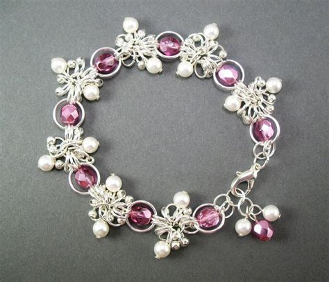 you to see pink sea urchin chainmaille by pam