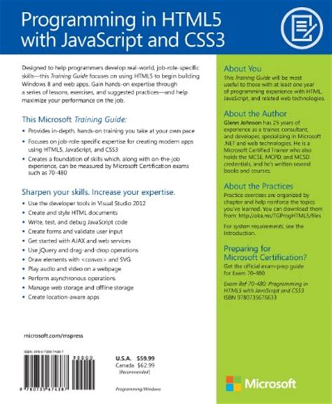 web programming with html5 css and javascript books programming in html5 with javascript and css3