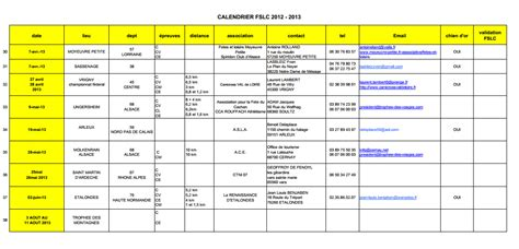 Calendrier Canicross Calendrier 2013 Des Courses De Canicross Canivtt En