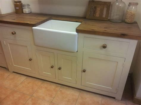 sink unit kitchen kitchen sink unit free standing solid pine with belfast