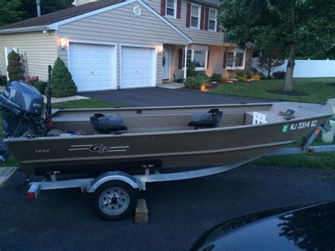 yamaha jon boat motors g3 1448 jon boat with trailer and motor
