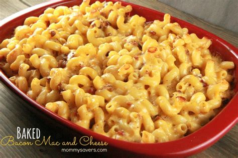 Chili Pepper Home Decor by Baked Macaroni And Cheese With Bacon Mommysavers