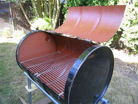 1000 Images About Grill On Drums Backyards And How To Build Diy Bbq Barrel