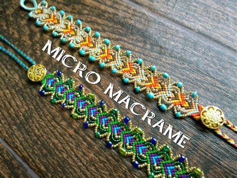 Micro Macrame Free Patterns - non sense micro macrame