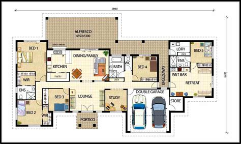 design a home floor plan selecting the best types of house plan designs