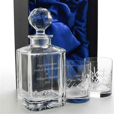 Personalised Whiskey Decanter Set   Whiskey Gift