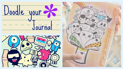doodle make your diary diy back to school doodle your journal
