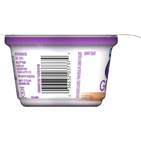 light and fit dannon light and fit yogurt barcode