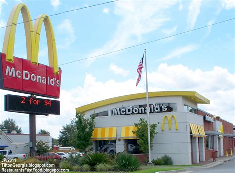 Mcdonald S Garden City Ga by Mcdonald S Tifton Mcdonald S Hamburger Fast Food